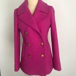 J. Crew pink women's jacket size 2 new